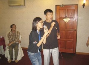 Connie and Simon Duet