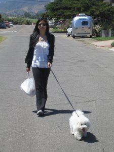 kelly and obi walking