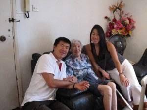 Kelly's grandmother