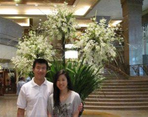 Simon and Kelly at Makati