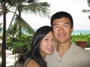 Simon and Kelly at Boracay