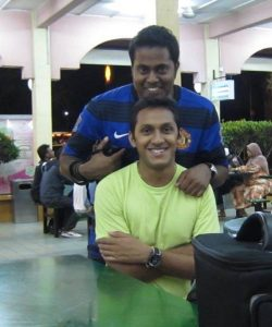Suren and Sanjay