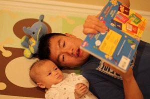 simon and ethan reading