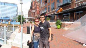 Simon and mom