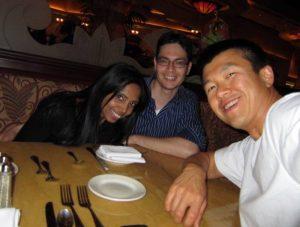 Simon, Ray and Theresa