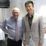 "Simon Chan with Tom ""Big Al"" Shreiter"