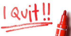 quit-written