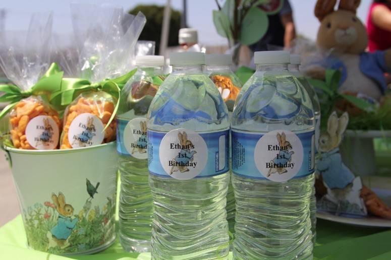 peter rabbit water