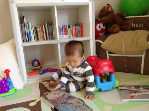 Ethan and his library