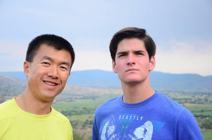 hikinh Simon and Luke