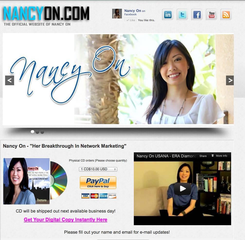 nancy's website