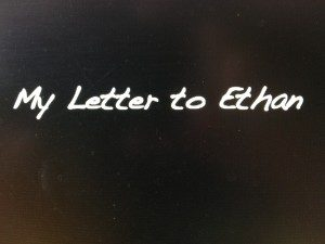 letter to ethan