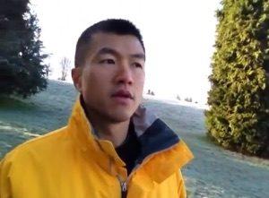 Simon with yellow jacket