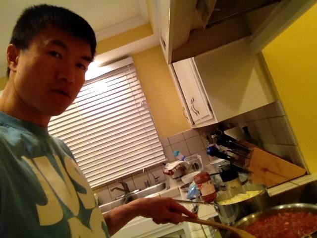 Simon cooking