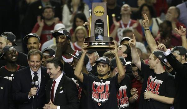Louisville Cardinals win the NCAA Basketball Championship