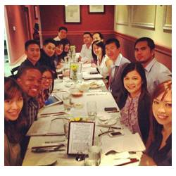 Dinner with Team Era leaders