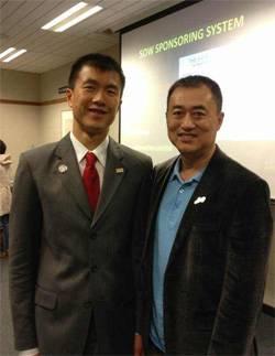 Simon Chan and Adam Zhou