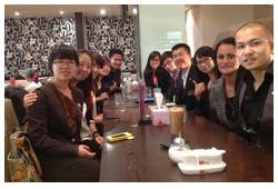 Dinner with 5 Star Mastermind members in Melbourne