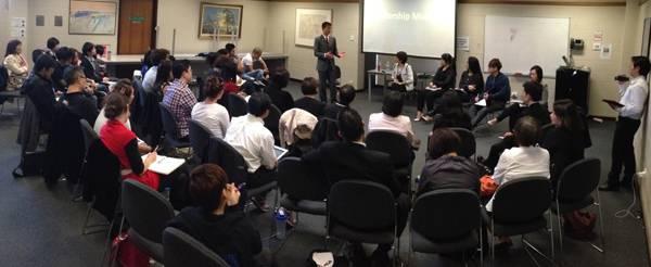 Conducting Advanced Leadership Training