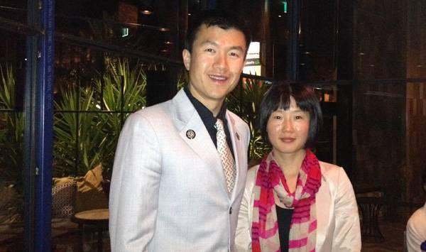 Simon and Julia Qin