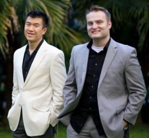 Simon Chan and Scott McGee