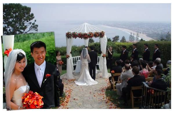 Simon's wedding day