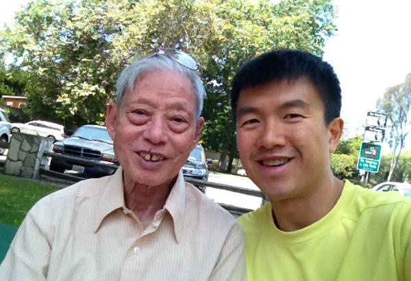 Simon and grandpa