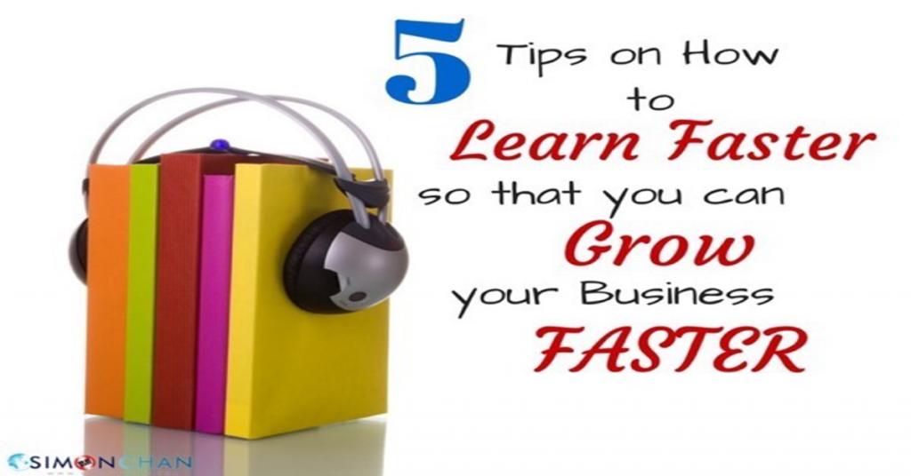 5 tips to lear fast