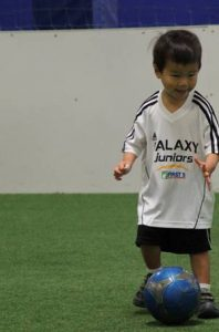 Ethan 1st time playing soccer