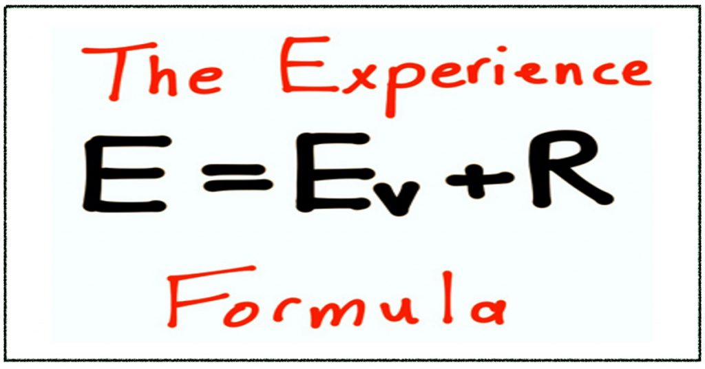 The Experience Formula by Simon Chan