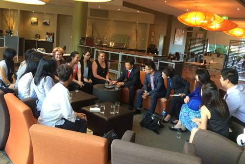 Networking event for Insider's Circle and Mastermind members in Melbourne
