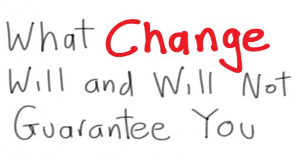 change what it guarantees