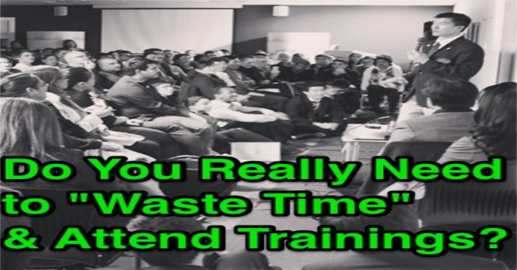 mlm trainings why you must attend