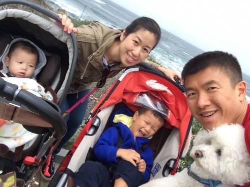 family at Monterey
