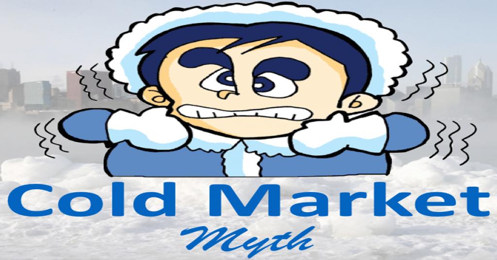cold marketing myth