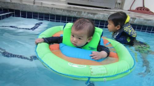 Didi swimming
