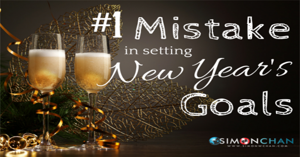 Mistakes in Setting New goals