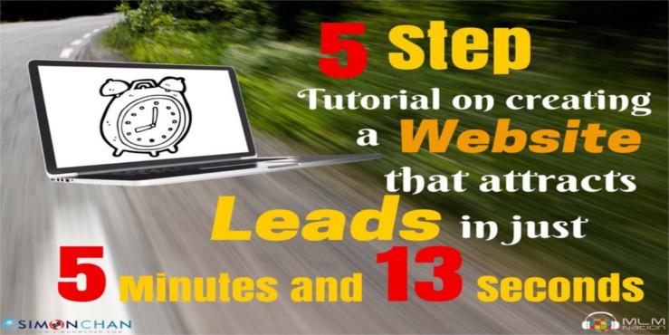 5 steps tutorial