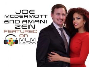 Joe McDermott and Amani Zein