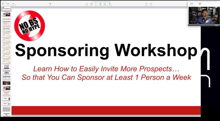 Sponsoring Workshop Webinar by Simon Chan