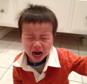 Temper tantrums!