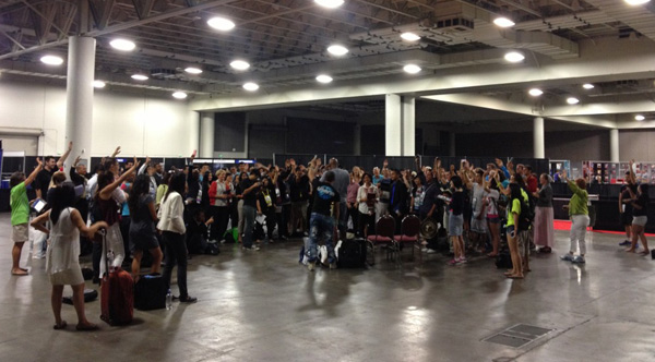 Recap Training Huddle after Convention ends