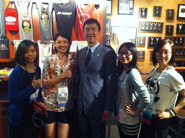 meet Simon Chan, Michelle Luo, Bobbi Hu, Iris Su, Jenny Lee