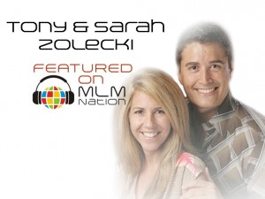Tony and Sarah Zolecki