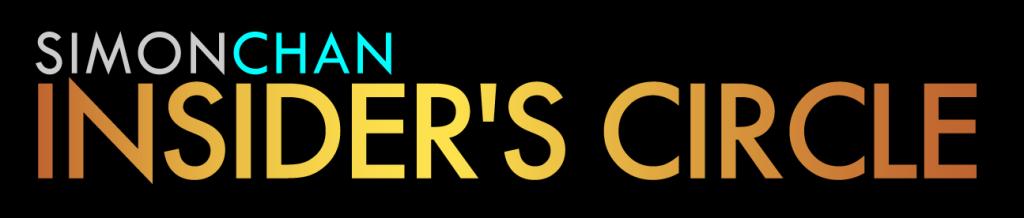 Simon Chan Insider's Circle Banner