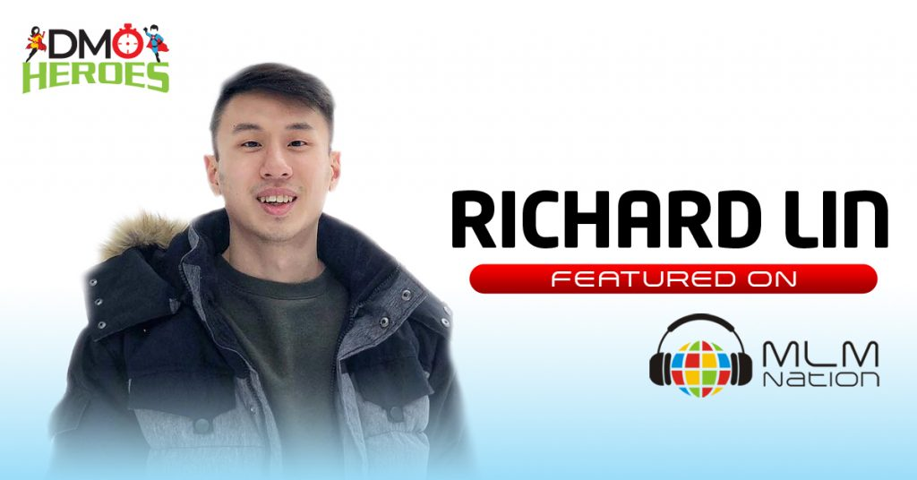 """555: DMO Heroes """"23 Year Old Leader Shares Instagram Recruiting Strategies, Tips On Staying Consistent and Much More """" by Richard Lin"""